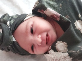 A girl, Scarlett Cole, 8 lb 9 oz, was born to parents Aaron Cole and Rebecca Monahan of Hanmer, on Dec. 28.