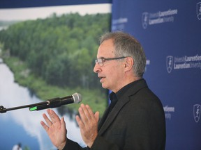 John Gunn, director of Living With Lakes Centre, shown in this file photo, says the city will have to transform itself yet again if it hopes to become an exemplary, carbon-neutral community by mid-century.