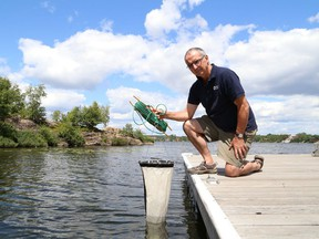 John Gunn is the director of the Vale Living with Lakes Centre in Sudbury, Ont. on Wednesday July 22, 2015.