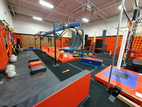 A photo of the Sarnia Super Ninja Obstacle Course Racing Club, which is located in the Lochiel Kiwanis Community Centre. The centre has updated its online presence to better showcase the facility and its tenants. Handout/Sarnia This Week