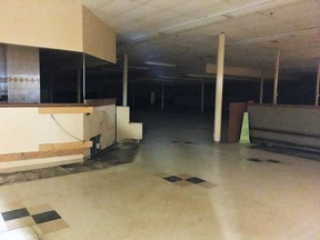 A recent photo of the vacant space in the Porcupine Mall, previously occupied by the Metro grocery store.  ANDREW AUTIO/Local Journalism Initiative