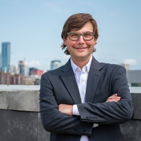 University of Alberta professor Joel Gehman has created a project called WellWiki, a website that tracks more than 4.3 million oil and gas wells throughout Canada and the United States. Photo Supplied by University of Alberta.