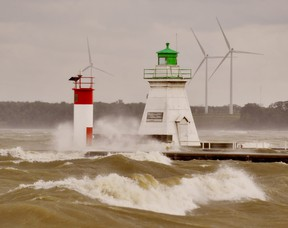A forecast of gale-force winds Thursday night into Friday has prompted the Long Point Region Conservation Authority to issue a flood advisory for the north shore of Lake Erie. -- Monte Sonnenberg