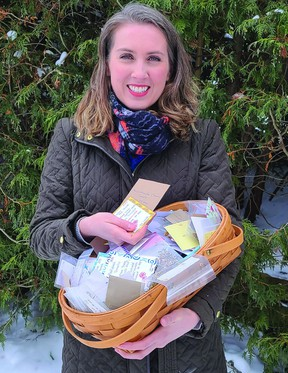 Sourcing seeds was a bit of a challenge last spring so Karry Sawatsky decided to organize a seed exchange to allow folks to ease into gardening this year