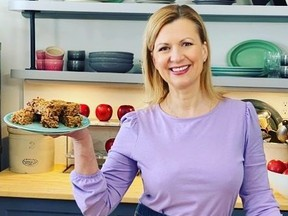 Celebrated Canadian chef Anna Olson