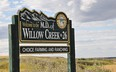 Nanton-MD of Willow Creek sign-low res