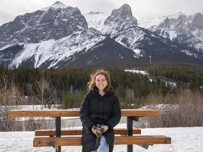 Margo Petroff is a graphic designer and illustrator living in Canmore. photo by Pam Doyle/www.pamdoylephoto.com