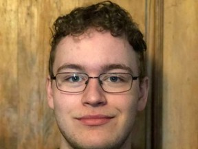 Bradford Ward, of Brockville Collegiate Institute, is one of two new student trustees at the Upper Canada District School Board. (SUBMITTED PHOTO)