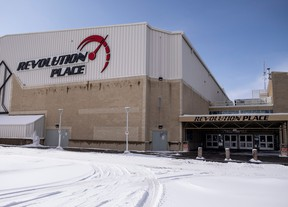 Grande Prairie's downtown arena may have a new name as the city looks for a business to partner with in a renaming agreement. RANDY VANDERVEEN
