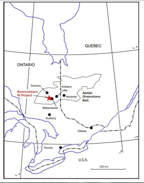 Exploration on Grid Metal Corp's Bannockburn property, located about 100 kilometres south of Timmins, exposed nickel-bearing massive sulphides that ran up to three per cent nickel in drill core. An upcoming drilling program aims to determine the exact footprint of the nickel deposit.  Supplied