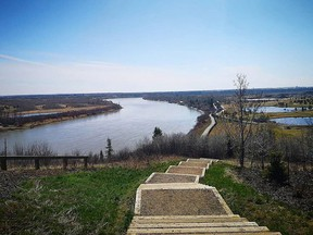 Residents are invited to provide their feedback in an April 14 online Zoom presentation about the new pedestrian footbridge to be built across the North Saskatchewan River between Edmonton's 167 Avenue and Strathcona County's Township Road 540. Photo courtesy River Valley Alliance