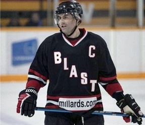 The Brantford Blast will not play this season due to COVID-19, but general manager Tony Falasca expects almost all of the team's players, including captain Sean Blanchard, to return for the 2021-22 Allan Cup Hockey season.