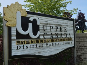 Upper Canada District School Board offices in Brockville. File photo