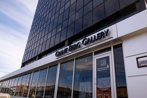 The Grant Berg Gallery is a finalist for the Alberta Business Awards of Distinction one of only two Peace Country businesses to be named. The gallery is a finalist in the Indigenous Business category. PHOTO RANDY VANDERVEEN
