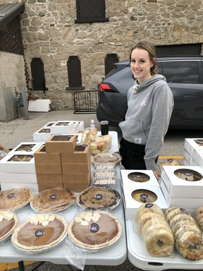 Sydney Pollock started her own company, Blake Street Bakery, with the help of the Ontario Summer Company program and Huron Economic Development.