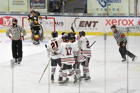 The Whitecourt Wolverines played the Bonnyville Pontiacs in Bonnyville April 24 and 25. Both cohorts are now in isolation.