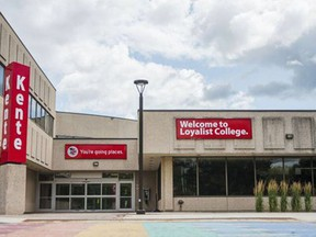 Local vaccination centres, including the one at Loyalist College, above, remain safe despite a recent COVID-19 exposure at the Loyalist clinic, the area's medical officer says.