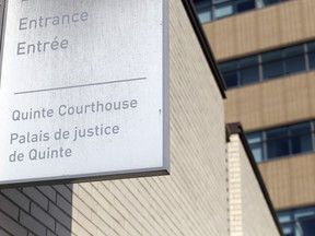 A Belleville man who pleaded guilty to mischief and failing to report a death will be sentenced June 3 at a hearing at the Quinte courthouse.