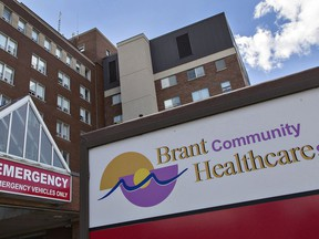 Five additional critical care beds have been opened to permit Brantford General Hospital to receive additional patients from outside of the area. Expositor file photo