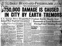 The front page of September 5, 1944, Standard-Freeholder.