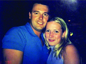 Stephane Parent has been charged with second-degree murder in the 2002 death of Adrienne McColl. FAMILY PHOTO