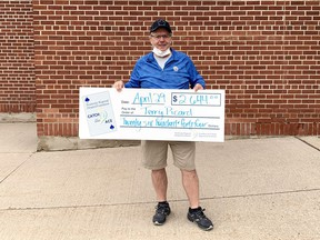 Terry Picard won $2,644 in Week 10 of the Pembroke Regional Hospital Foundation Catch the Ace 2.0 lottery.