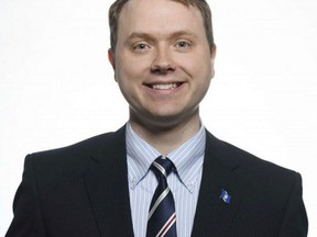 Sherwood Park MLA Jordan Walker. Photo Supplied