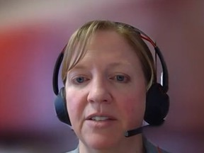 Dr. Lianne Catton, medical officer of health for the Porcupine Health Unit.  Screenshot