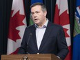 Alberta Premier Jason Kenney announced new provincial COVID-19 restrictions on Tuesday, May 4. Photo by Government of Alberta