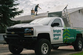 A Fort Saskatchewan couple have announced the launch of their eco-friendly roofing business, servicing the Edmonton-area. Photo Supplied.