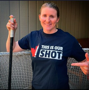 Olympic athlete and much loved Canadian hockey star Hayley Wickenheiser, recently began a campaign 'This Is Our Shot'  to encourage Canadians to get the Covid-19 vaccine when it's their turn.