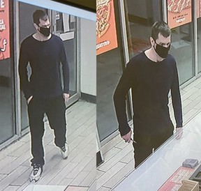 The Timmins Police Service says a man who was wanted in connection with an armed robbery that occurred Wednesday evening at  Little Caesars restaurant in Timmins was arrested Friday night after allegedly being involved with a second armed robbery - this one at a Mountjoy Street convenience store.  Supplied