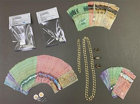 Items seized by Manitoba First Nations Police Service. (supplied photo)