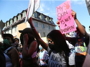 Thousands, including Prime Minister Justin Trudeau, gathered near the U.S. Embassy in Ottawa in June 2020 to march peacefully for George Floyd and the Black Lives Matter movement.
