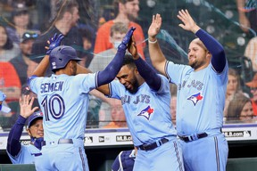 Cavan Biggio and Danny Jansen slugged home runs early before Marcus Semien did so late as the Toronto Blue Jays claimed an 8-4 road victory over the Houston Astros Saturday. Reuters