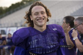 Western Mustangs free safety Danny Valente Jr. was one of four Mustangs named to the East-West Bowl roster recognition list. The game won't be held for a second straight year because of the COVID-19 pandemic, but U Sports wanted to honour players identified for the 2022 CFL draft. Photo taken Wednesday September 12, 2018. (London Free Press file photo)