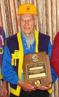 "Tom Heath joined the Mitchell Lions Club in 1956 and was a member until 2016 for a total of 60 years. In 2008 the club presented him with the ""Melvin Jones Award,"" the highest honour an individual member can receive, for his service in the Mitchell Lions Club. SUBMITTED"