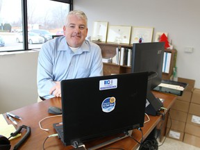 Vince Gagner, general manager of the Industrial Educational Cooperative, Sarnia-Lambton Environmental Association and Community Awareness Emergency Response, is shown in this file photo.