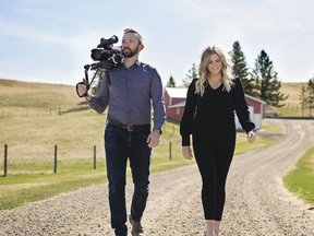 Cinemaphotographer Ben Wilson and director Sarah Wray, partners at Story Brokers Media House, are gearing up for this summer's new film projects. Kelly Wilson photo