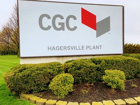 The Canadian Gypsum Company plant on Third Line in Hagersville is operating at about half capacity due to an outbreak of COVID-19. The plant employs about 350 people, a spokesperson for the company said April 29. Monte Sonnenberg/Postmedia