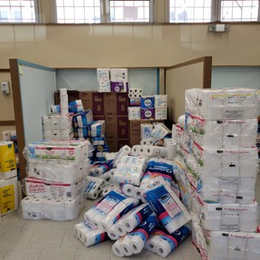 TP North Bay surpassed its goal of 20,000 rolls.