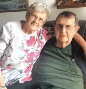 The pair celebrated their 60th wedding anniversary on June 6.