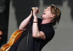 The Goo Goo Dolls perform on stage in Calgary Wednesday, July 11, 2018 at RoundUp Music Festival at Shaw Millenium Park. Jim Wells/Postmedia
