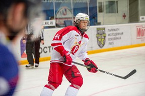 The North Bay Battalion took Russian centre Alexander Lukin with its first-round pick in the 2021 Canadian Hockey League Import Draft on Wednesday. Submitted Photo