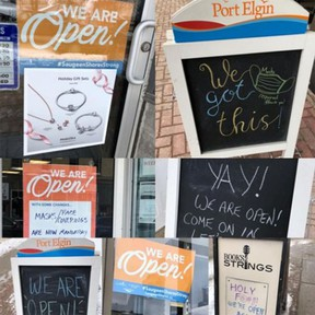 As Saugeen Shores emerges from the pandemic into Step Two of the provincial reopening plan, restrictions on retail annd dining capacities have eased and personal services - haircuts, pedicures - have resumed service.