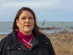 Christy Bressette of Kettle and Stony Point First Nation, shown in this file photo, says the Thames Valley District school board should rename Ryerson and John A. Macdonald public schools because of the role the two men they're named after played in the treatment of Indigenous people in the 19th century. Bressette is Western University's vice-provost of Indigenous initiatives. (Mike Hensen/The London Free Press)