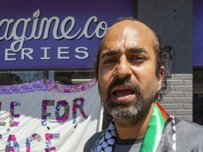Heenal Rajani, co-owner of ReImagine Co. an environmental grocery store on Piccadilly. (Mike Hensen/The London Free Press file photo)