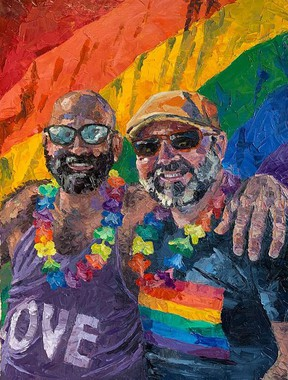 June is Pride Month and the Quinte Arts Council is proud to host the third annual Everyone Under the Rainbow show. DANIEL FOBERT
