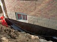 Your best bet is to waterproof the foundation from the outside -- ideally when you build the home, so you don't have to excavate around the house to add waterproofing after the fact, says building expert Mike Holmes. Holmes Group photo
