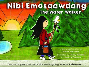 The Water Walker, a children's book written and illustrated by Anishinaabe water protection activist Joanne Robertson, has inspired the Upper Thames Conservation Authority and the Huron Perth Catholic District school board to ask Indigenous educators for help teaching students about the importance of watershed stewardship. Handout